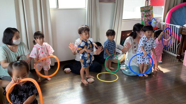 「音楽知育リトミック」 夏のお祭りリトミック♪